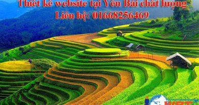 Thiết kế website tại Yên Bái chất lượng